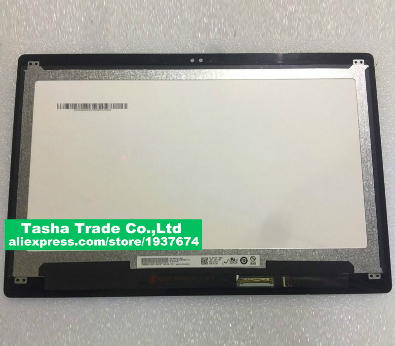 13.3 For Dell Inspiron 13 5368 5378 LCD Screen Touch Digitizer Assembly B133HAB01.0 FHD free shipping 13 3 for dell xps 13 9350 assembly qhd lcd screen wih touch digitizer 3200 1800