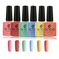 I.B.N Creamy Series Blue Green Yellow Pink Orange Gel Nail Polish Long-lasting Soak-off LED UV Gel Color Manicure Pedicure Gel