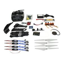 JMT DIY RC Drone Quadrocopter Full Set X4M380L Frame Kit APM 2.8 GPS AT9 TX