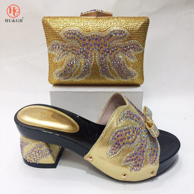 New Italian Shoes with Matching Bag African Shoe for Women Sale In Women Matching Shoes and Bag Set Nigerian shoes Free shipping italian shoe with matching bag set for wedding african matching shoe and bag set with stones high quality women pumps red gf24