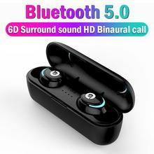 Bluetooth 5,0 Беспроводной наушники-вкладыши TWS с вкладыши громкой связи Bluetooth гарнитура наушники спортивные наушники Bluetooth гарнитура для телефона с микрофоном
