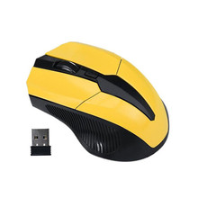 ISHOWTIENDA Silence For PC Computer Wireless for Laptop 2.4GHz Mice USB Receiver