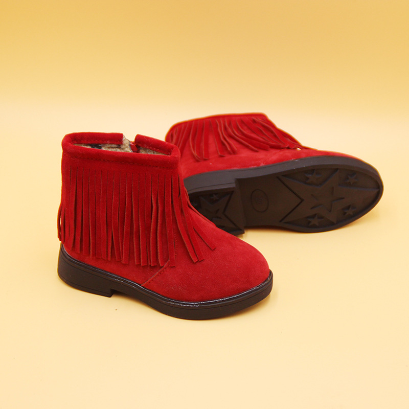 Popular Red Fringe Boots Kids-Buy Cheap Red Fringe Boots Kids lots ...