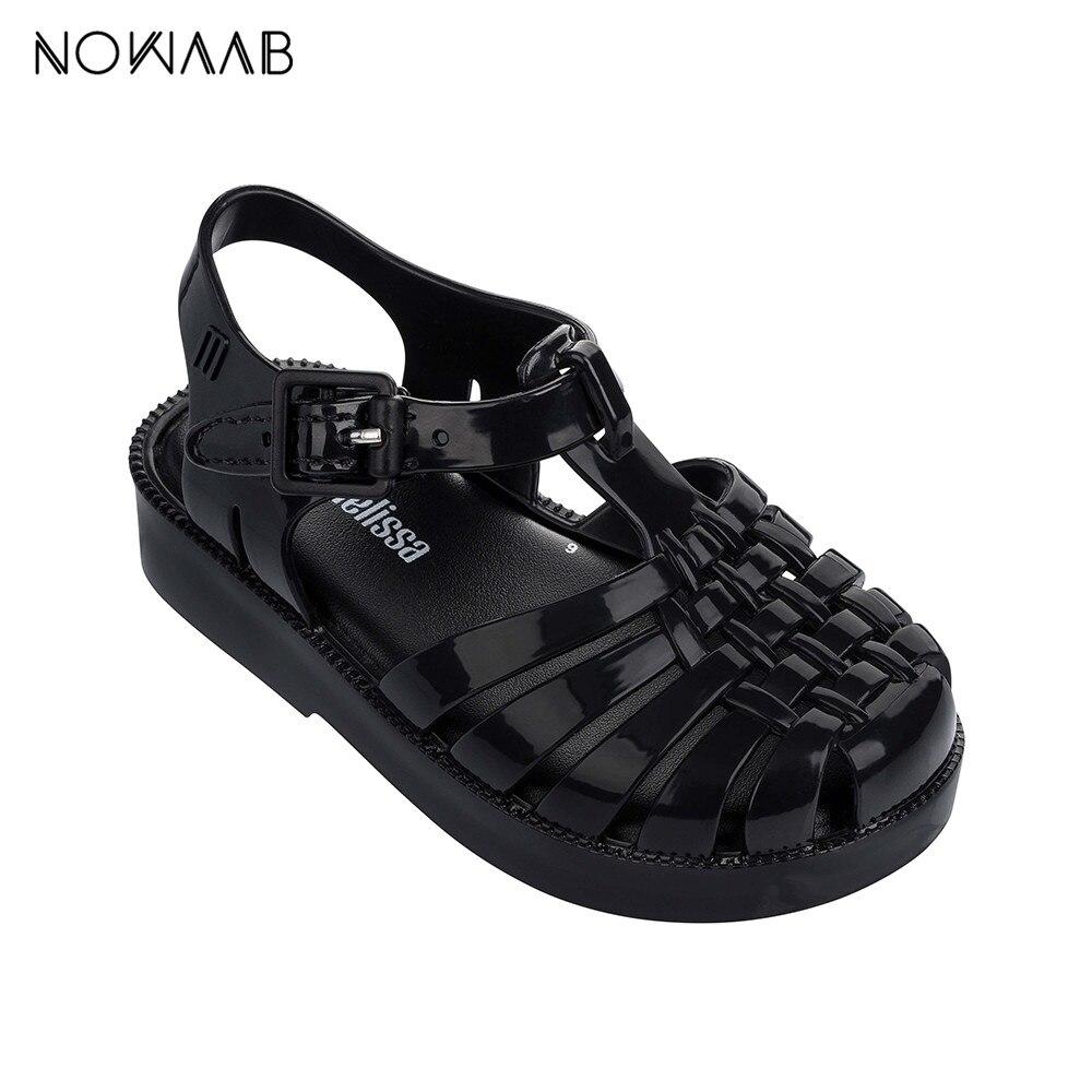 Mini Melissa 2019 Summer New Roman Boy Girl Sandals Brazil