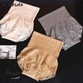 Mulheres Emagrecimento Corretiva Undershaper Alta Belly Slimming Bainha Cintura Fina Calcinha de Renda Sem Costura Calcinha Vendas Quentes 24 H Usando