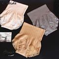 Women Corrective Slimming Undershaper High Slim Waist Panties Lace Belly Slimming Sheath Seamless Panty Hot Sales 24H Wearing