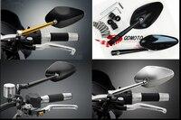 Hot 2pcs Big Brand Adjustable Motorcycle Mirror Heavy Duty Motorcycle Street Bike Bar End Mirrors