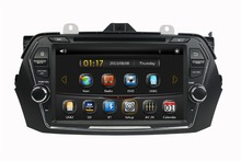 HD 2 din 8″ Car dvd gps navigation for Suzuki CIAZ 2015 2016 With Radio Bluetooth ipod SWC USB AUX IN