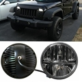 7 Inch LED Headlight Conversion Kits With Super Bright LEDs Light For Jeep Wrangler Jk TJ FJ cruiser Hummer Trucks Motorcycle