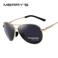 MERRY S Fashion Men S UV400 Polarized Sunglasses Men Driving Shield Eyewear Sun Glasses S 6012