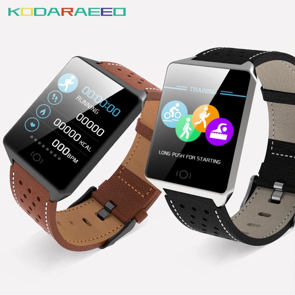 CK19 Smart Watch Blood Pressure Heart Rate tracker Monitor Sports Fitness Tracker Waterproof Smartwatch for IOS Android Phones