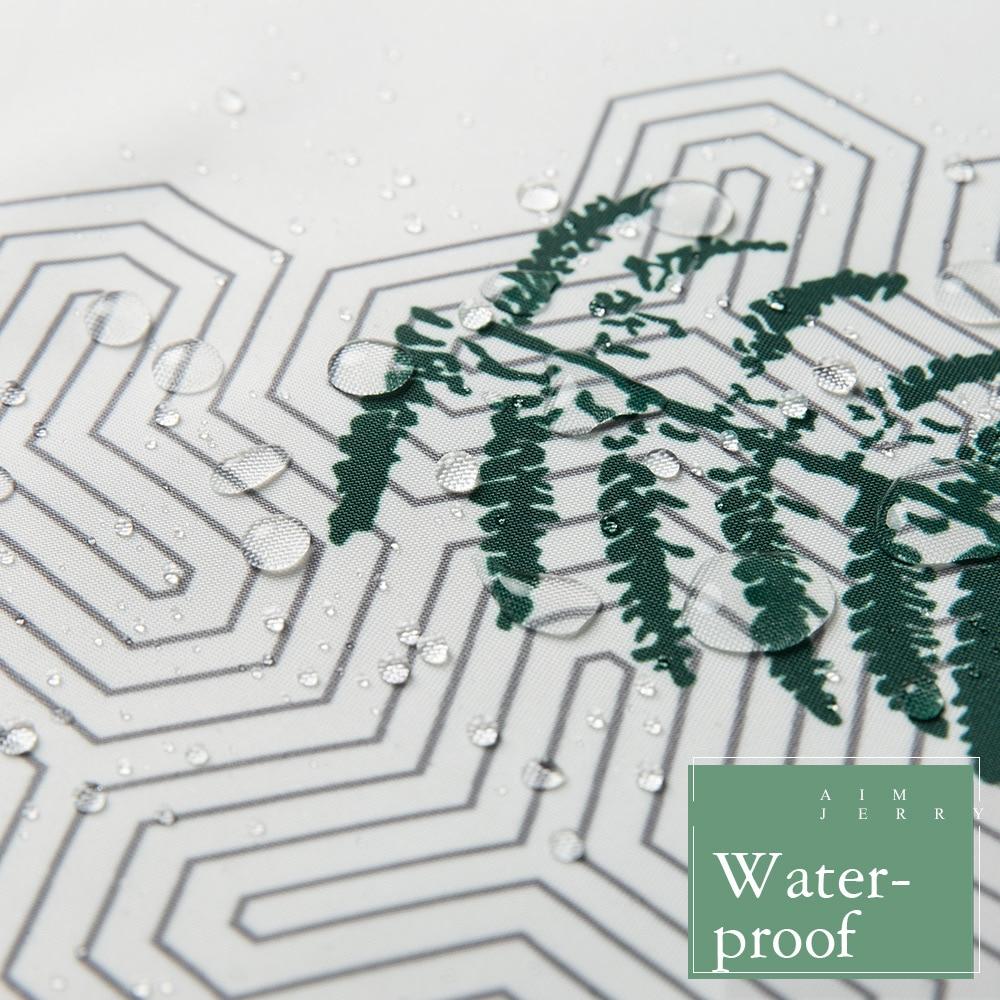 Aimjerry πράσινο φύλλα Custom Κουρτίνα ντους - Οικιακά είδη - Φωτογραφία 4