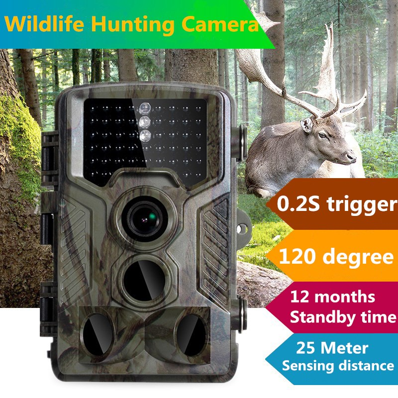 16MP Scouting Hunting Trail Camera 0.6S Trigger Night Vision  IR Infrared Trail Cameras 2.4' LCD IR Game Hunter Camera hot sale hunting wildlife camera night vision 940nm ir infrared trail cameras game hunter 9282