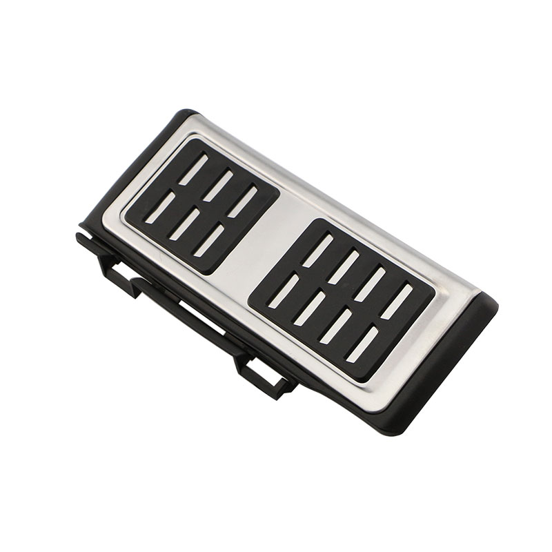 Image 5 - Car Pedals Cap Foot Rest Cover Brake Clutch Pedal For VW Golf 7 GTi MK7 Seat Leon Octavia A7 Rapid for Audi A3 8V Passat VIII-in Pedals from Automobiles & Motorcycles