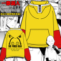 2016 Anime One Punch Man Hero Saitama Oppai Hoodie Cosplay Costume Hooded Sweatshirts Size S-2XL