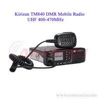 DMR Ham Radio Transceiver Kirisun TM840 DM850 Digital Mobile Radio Repeater 400 470MHz Uhf Transceiver
