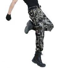 New Fashion Multi-pocket Casual Cotton Camo Military Tactical Cargo Pants Men Working Army Combat Trousers Outdoors Sweatpants
