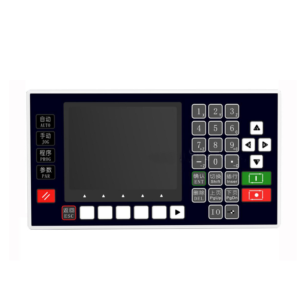 NEW CNC Lathe 4 Axis Controller 3.5inch TFT RS485 Communication Matching Servo Stepper CNC use for Milling Machine new cnc lathe 4 axis controller 3 5inch tft rs485 communication matching servo stepper cnc use for milling machine