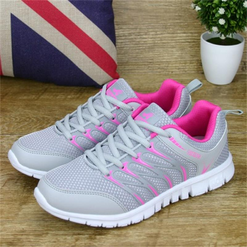 KUYUPP 2018 Breathable Woman Sneakers Spring Women Casual Shoes Leisure Lace up Flat Footwear Female Mesh Shoes Fashion DT926 vikeduo brand 2017 fashion top real leather hollow breathable men shoes leisure casual lace shoes summer spring white footwear