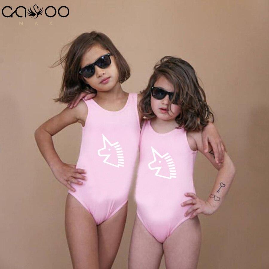 Famliy Passenden Mutter Tochter Bademode Ctrl C & Ctrl V Mom Baby Mädchen Einteiliges Bikini Drucken Backless Badeanzug Bademode Badende