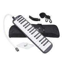 Zebra 32 Phím Mouth Organ Harmonica Phím Đàn Piano Melodica với Trường Hợp Bìa Cho Giáo Dục Âm Nhạc Cụ Người Yêu Người Mới Bắt Đầu Quà Tặng
