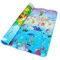 Baby Puzzle Crawling Jogar Mat Playmat Oceano Azul Espuma EVA caçoa o Presente Toy Crianças Jogo Tapete Ao Ar Livre Macio Chão do Ginásio tapete