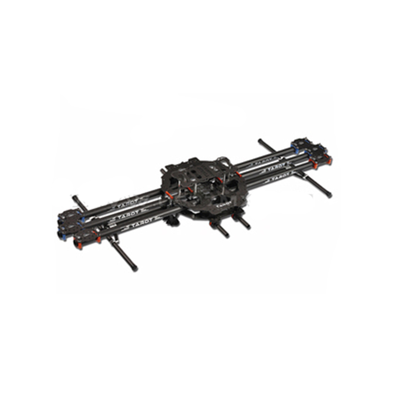 Overflew Tarot FY680 FY650 Full Six-axis Folding Rack Multi-rotor  Frame( Pure Carbon Tubes Edition) tarot tl68b14 6 axis aircraft hexcopter fy680 fy650 inverted battery rack ship with tracking number