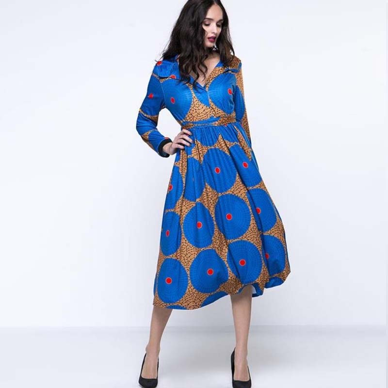 2018 Autumn winter Hooded Dress Women Fashion printing long sleeve  waistband vintage dress Ladies casual vacation party dresses-in Dresses  from Women s ... 70415945595c