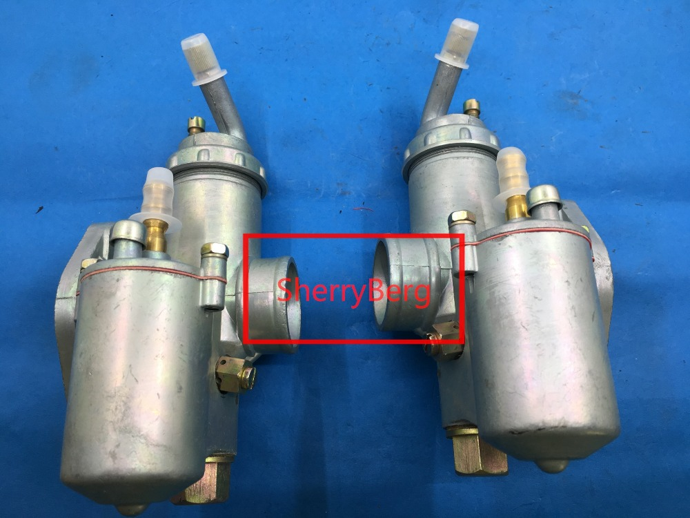Pair (left and right ) ural K750 motorcycle carburetor PZ28 carburador Case For BMW R50 R60/2 R69S R12 K750, R1,R71,M72, MW 750 автокресло peg perego peg perego автокресло viaggio 1 duo fix tt rouge