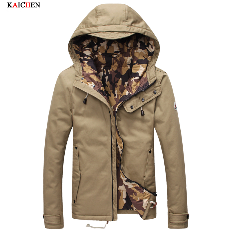 ФОТО Top Quality Men Down Parka Jacket Coat 2016 New Winter Brand Fashion Thick Warm Overcoat Man Outerwear