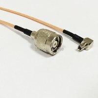 RP TNC мужчина с женский контактный для TS9 правый угол косичку кабель для 3G антенны Расширение Оптовая продажа Новый
