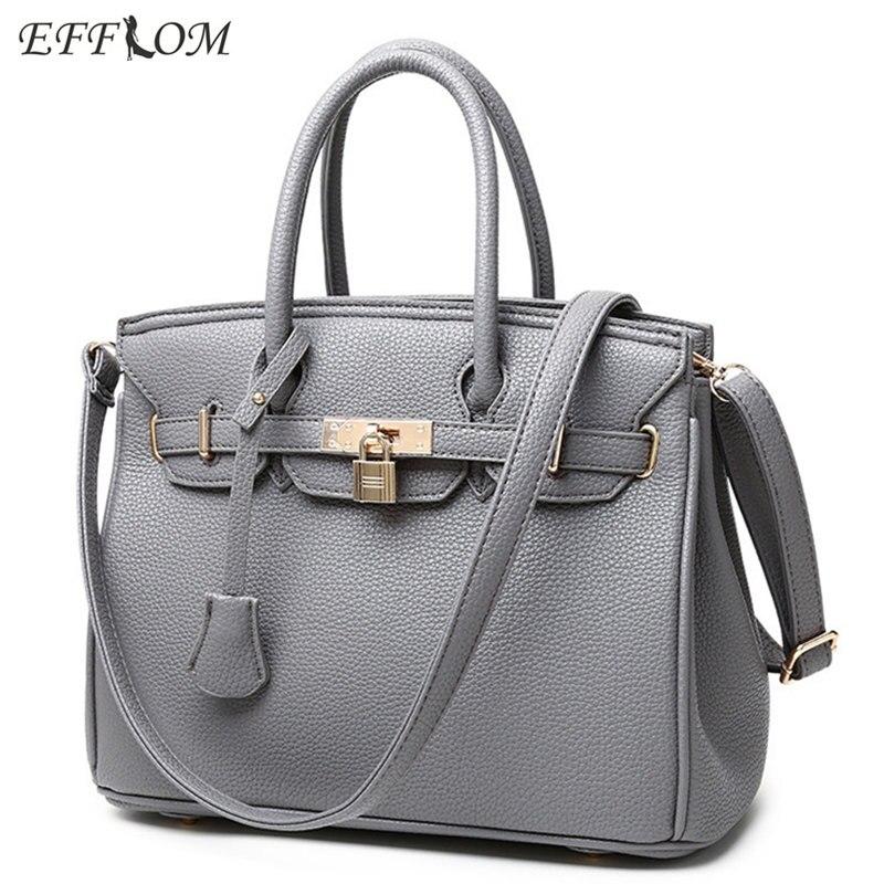Luxury Handbags Women Bags Designer High Quality PU Leather Suede Top-Handle Bags Lock Element Ladies Handbags Big Tote Bag Pink