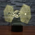 Star Wars 3D Color Changing Night Light for Bedrooms, Living Rooms, Offices and Study Rooms