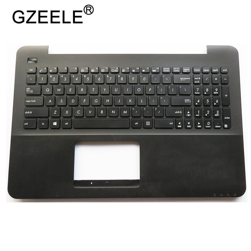 US Keyboard Palmrest Upper Case Cover For ASUS K555 A555 X555 K555L A555L X555L W519L Y583L Black
