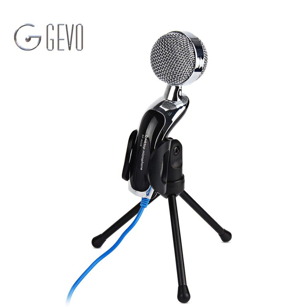 SF-922B Micrófono con cable USB Cancelación de ruido Condensador de - Audio y video portátil