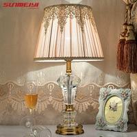 Led Desk Lamp Lustre Modern Table Lamp Reading Study Light Bedroom Bedside Lights Acrylic Lampshade Home Lighting Design Lamps