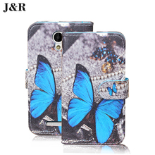 Cute Cartoon Cover For Prestigio Muze C3 3504 DUO PSP3504DUO Filp Wallet Leather Cover For Muze C3 Case Phone Bags & Cases