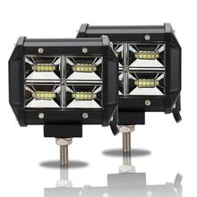 Led Bar Work Light 48W 12v 24v Car Headlight 4inch offroad Spotlight Driving Lights Bars for Trucks Auto Beams