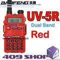 409 МАГАЗИН фабрики uv5r RED136-174MHZ/400-480 МГЦ двухстороннее walkie talkie двухдиапазонный мобильный радио baofeng уф-5r