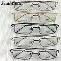 Fotograma completo súper delgada de titanio Alike gafas Unisex cómodo aprendidas gafas cuatro colores gafas graduadas vidrios 6008