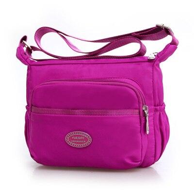 New Women Shopping Handbag!Hot Fashion Lady Shoulder&Crossbody bag Top All-match fresh carved Nylon one-shoulder Flap bags