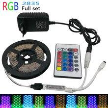 5m SMD 2835/3825 LED Light Flexible RGB  LED Strip Light DC12V led tape NON Waterproof or Waterproof RGB LED Light