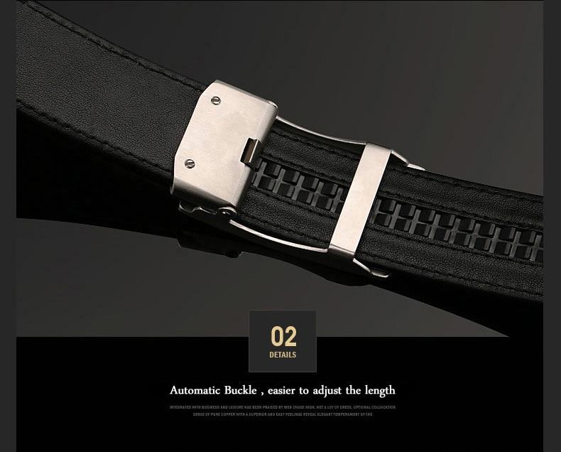 Apparel Accessories Mcparko Genuine Alligator Leather Belt Men Agate Inlaid Automatic Buckle Real Crocodile Belt Luxury Brand Birthday Gift Male Elegant And Sturdy Package