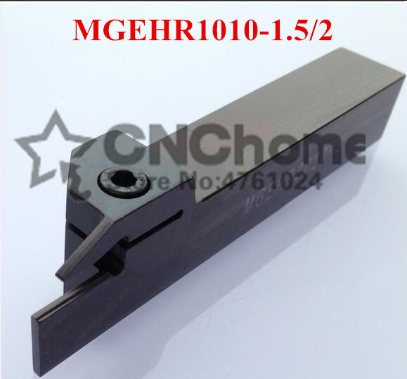 MGEHR/MGEHL1010-1.5 MGEHR/MGEHL1010-2 10*10mm Petiole CNC Turning Tool Rod, External Grooving Turning Lathe Bar Tool Holder