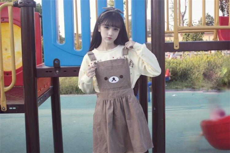 A-Line Cute Bear Dress  1