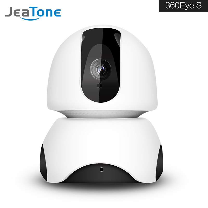JeaTone Wireless 1080P WiFi IP Surveillance Home Security Camera Two-Way Audio Motion Detection Remote Control Auto Night Vision 1080p wifi security camera alarm push remote control night vision motion detection nanny wireless ip camera