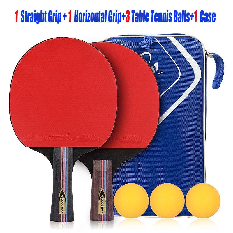 CROSSWAY Tafeltennis Racket Professionele Horizontale Dubbele Grip - Sportrackets - Foto 6