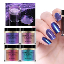 BORN PRETTY Chameleon Dip Nai Powder Shining Holographic Glitter Mirror Dipping System Gradient French Natural Dry Manicure