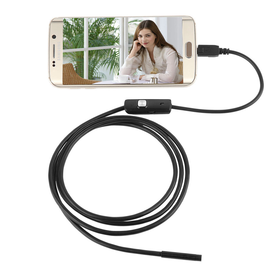 _03  1M 1.5M 2M three.5M 5M Common Endoscope 720P Waterproof 6LED Moveable Inspection Borescope Digital camera For Android Cellular Cellphone HTB1ubamRVXXXXasaXXXq6xXFXXXE