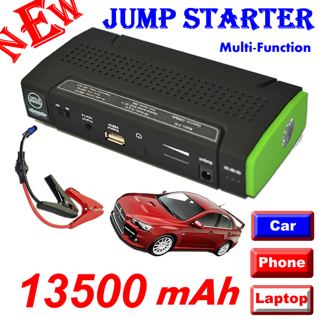 13500 mAh 12 V Multi-Função de Banco de Energia Móvel Para Tablets/Notebook/telefone/carro Recarregável Externa bateria de Backup de Energia